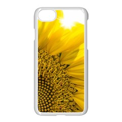 Plant Nature Leaf Flower Season Apple Iphone 7 Seamless Case (white) by Simbadda
