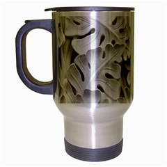Pattern Motif Decor Travel Mug (silver Gray) by Simbadda