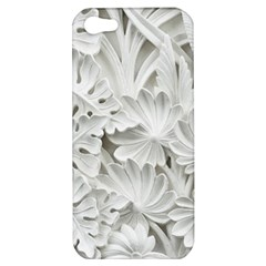 Pattern Motif Decor Apple Iphone 5 Hardshell Case by Simbadda