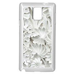 Pattern Motif Decor Samsung Galaxy Note 4 Case (white) by Simbadda