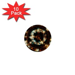 Science Fiction Energy Background 1  Mini Buttons (10 Pack)  by Simbadda