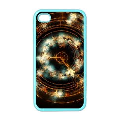 Science Fiction Energy Background Apple Iphone 4 Case (color) by Simbadda