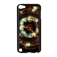 Science Fiction Energy Background Apple Ipod Touch 5 Case (black) by Simbadda