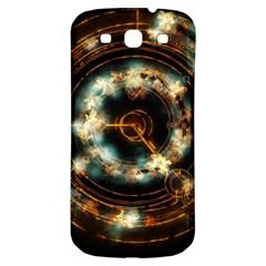 Science Fiction Energy Background Samsung Galaxy S3 S Iii Classic Hardshell Back Case by Simbadda