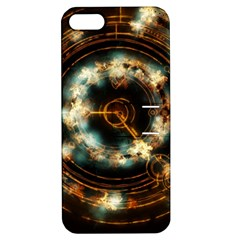 Science Fiction Energy Background Apple Iphone 5 Hardshell Case With Stand by Simbadda