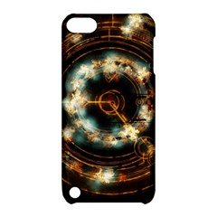 Science Fiction Energy Background Apple Ipod Touch 5 Hardshell Case With Stand by Simbadda