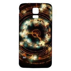 Science Fiction Energy Background Samsung Galaxy S5 Back Case (white) by Simbadda