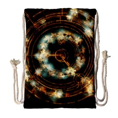 Science Fiction Energy Background Drawstring Bag (large) by Simbadda
