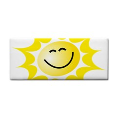 The Sun A Smile The Rays Yellow Cosmetic Storage Cases by Simbadda