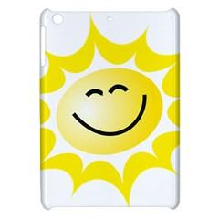 The Sun A Smile The Rays Yellow Apple Ipad Mini Hardshell Case by Simbadda