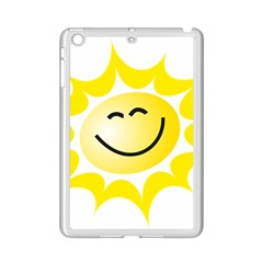 The Sun A Smile The Rays Yellow Ipad Mini 2 Enamel Coated Cases by Simbadda
