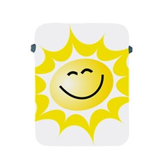 The Sun A Smile The Rays Yellow Apple Ipad 2/3/4 Protective Soft Cases by Simbadda
