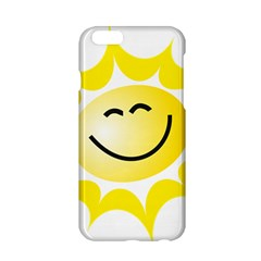 The Sun A Smile The Rays Yellow Apple Iphone 6/6s Hardshell Case by Simbadda