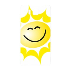The Sun A Smile The Rays Yellow Samsung Galaxy Alpha Hardshell Back Case by Simbadda