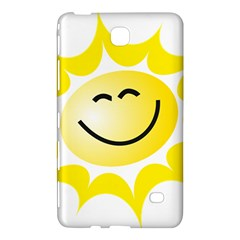 The Sun A Smile The Rays Yellow Samsung Galaxy Tab 4 (7 ) Hardshell Case  by Simbadda