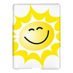 The Sun A Smile The Rays Yellow Samsung Galaxy Tab S (10 5 ) Hardshell Case  by Simbadda
