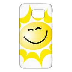 The Sun A Smile The Rays Yellow Galaxy S6 by Simbadda