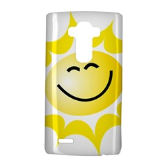 The Sun A Smile The Rays Yellow Lg G4 Hardshell Case by Simbadda