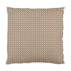 Pattern Ornament Brown Background Standard Cushion Case (two Sides) by Simbadda