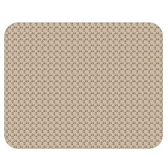 Pattern Ornament Brown Background Double Sided Flano Blanket (medium)  by Simbadda