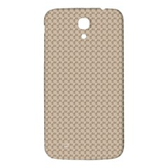 Pattern Ornament Brown Background Samsung Galaxy Mega I9200 Hardshell Back Case by Simbadda