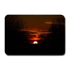 Sunset Sun Fireball Setting Sun Plate Mats by Simbadda