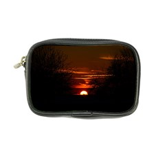 Sunset Sun Fireball Setting Sun Coin Purse by Simbadda