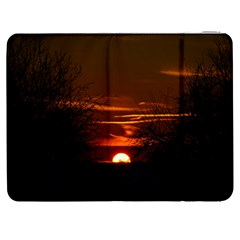 Sunset Sun Fireball Setting Sun Samsung Galaxy Tab 7  P1000 Flip Case by Simbadda