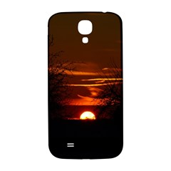 Sunset Sun Fireball Setting Sun Samsung Galaxy S4 I9500/i9505  Hardshell Back Case by Simbadda