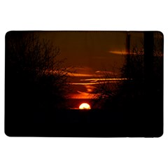Sunset Sun Fireball Setting Sun Ipad Air Flip by Simbadda
