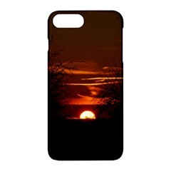 Sunset Sun Fireball Setting Sun Apple Iphone 7 Plus Hardshell Case by Simbadda