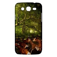 Red Deer Deer Roe Deer Antler Samsung Galaxy Mega 5 8 I9152 Hardshell Case  by Simbadda