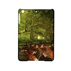 Red Deer Deer Roe Deer Antler Ipad Mini 2 Hardshell Cases by Simbadda
