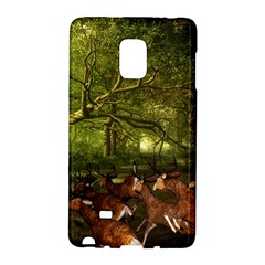 Red Deer Deer Roe Deer Antler Galaxy Note Edge by Simbadda