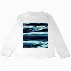 Texture Fractal Frax Hd Mathematics Kids Long Sleeve T Shirts by Simbadda