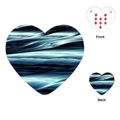 Texture Fractal Frax Hd Mathematics Playing Cards (heart)  by Simbadda