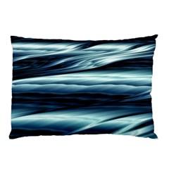 Texture Fractal Frax Hd Mathematics Pillow Case (two Sides) by Simbadda
