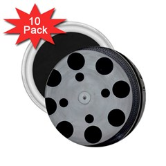 Turntable Record System Tones 2 25  Magnets (10 Pack)