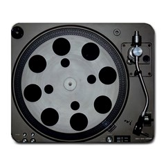 Turntable Record System Tones Large Mousepads by Simbadda