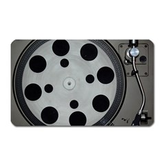 Turntable Record System Tones Magnet (rectangular) by Simbadda