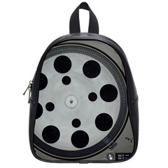 Turntable Record System Tones School Bags (small)  by Simbadda
