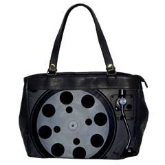 Turntable Record System Tones Office Handbags by Simbadda