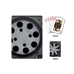 Turntable Record System Tones Playing Cards (mini)  by Simbadda