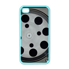 Turntable Record System Tones Apple Iphone 4 Case (color) by Simbadda