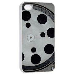Turntable Record System Tones Apple Iphone 4/4s Seamless Case (white) by Simbadda