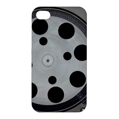 Turntable Record System Tones Apple Iphone 4/4s Premium Hardshell Case by Simbadda