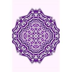 Mandala Purple Mandalas Balance 5 5  X 8 5  Notebooks by Simbadda