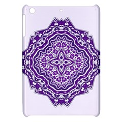Mandala Purple Mandalas Balance Apple Ipad Mini Hardshell Case by Simbadda
