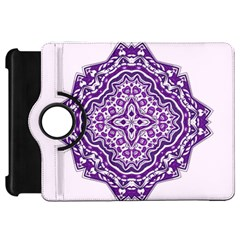 Mandala Purple Mandalas Balance Kindle Fire Hd 7  by Simbadda