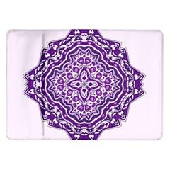 Mandala Purple Mandalas Balance Samsung Galaxy Tab 10 1  P7500 Flip Case by Simbadda